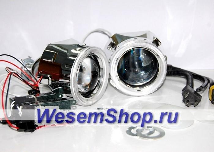 Биксеноновые линзы G5 и G4, купить биксеноновые линзы Morimoto Mini Н1   www.WesemShop.ru